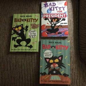 Other - MAKE OFFER (3) Bad Kitty books GREAT FOR CLASSROOM